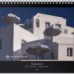 Santorini * 2017 Art Calendar